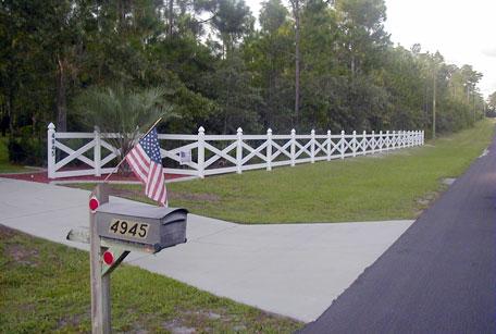 C Amp S Vinyl Fence Ranch Rail